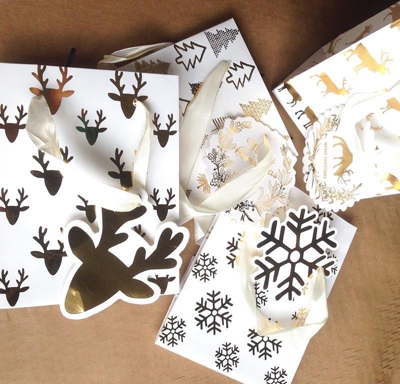 Pack de bolsitas navideñas