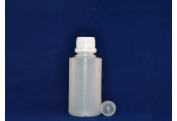 Botella pástico natural 125ml