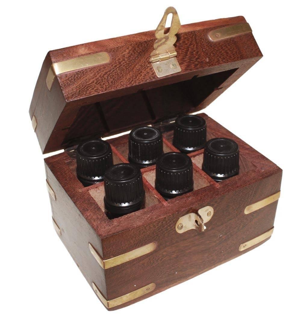 Baul de madera para aromaterapia mod-BA02