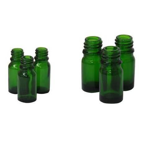 Frasco color verde cobalto 10ml  DIN18
