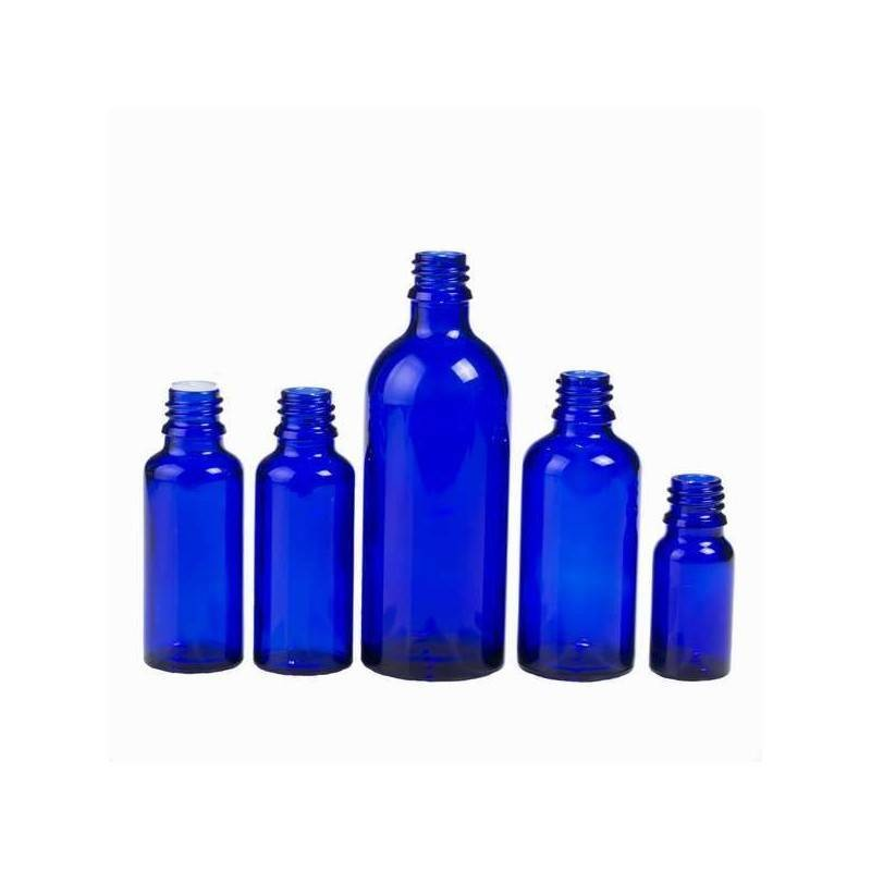 Frasco color azul cobalto 30ml DIN18
