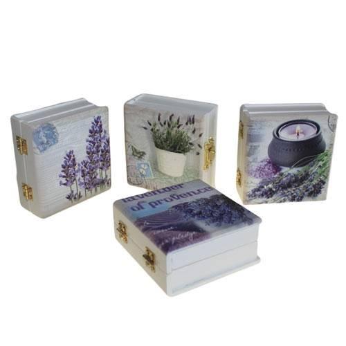 Libro de madera aromaterapia mod-BA10
