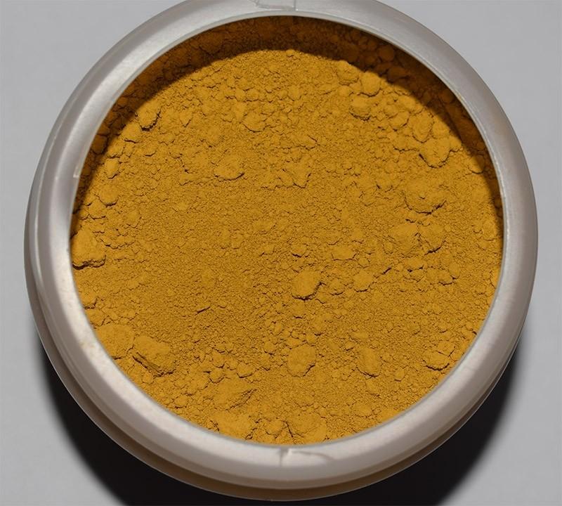 Óxido pigmento color Amarillo