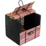 Cajita de bambú grueso