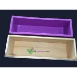 Molde caja madera + Silicona de 1200ml