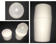 Roll on de 50ml en Plástico. Color Blanco