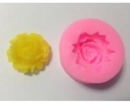 Molde silicona rosa mini