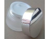 Tarro cristal esmerilado 50ml con obturador